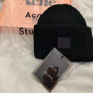 Acne Studios Black Beanie